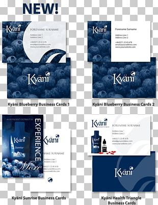 Business Cards Kyäni Logo Visiting Card PNG