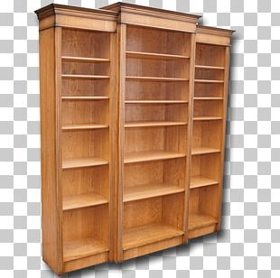 Bookcase Shelf Furniture Cupboard Marquetry PNG