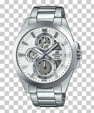 Casio Edifice Watch Chronograph Amazon.com PNG