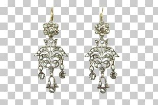 Earring Jewellery Silver Clothing Accessories Diamond PNG
