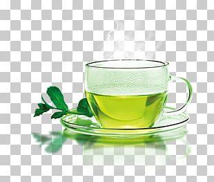 Green Tea Coffee Longjing Tea Teacup PNG