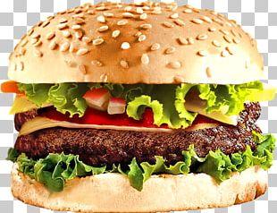 Hamburger Cheeseburger Barbecue Chicken Sandwich Veggie Burger PNG