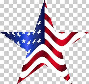 Star American Flag PNG