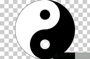 Sticker Yin And Yang Paper Brand PNG
