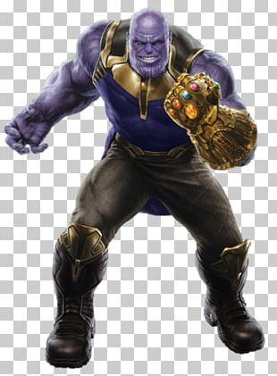 Thanos Iron Man Hulk Black Panther Spider-Man PNG