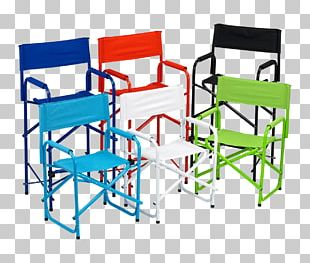 Folding Chair Table Director's Chair Fauteuil PNG