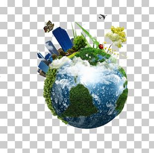 Earth Green Building Stock Photography PNG