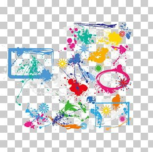 Watercolor Painting Euclidean Brush PNG