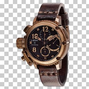 Automatic Watch Chronograph Clock U-boat PNG