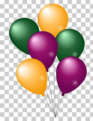 Balloon Party PNG