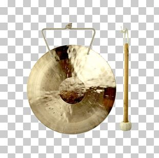 Gong Musical Instruments Percussion Drums Standing Bell PNG
