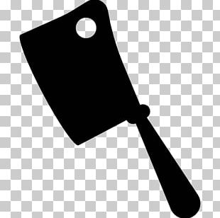 Knife Cleaver Butcher Silhouette PNG