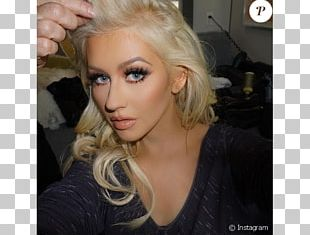 Christina Aguilera The Voice Artificial Hair Integrations Beautiful PNG