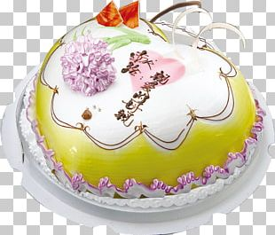 Birthday Cake Shortcake Cream European Cuisine Chiffon Cake PNG