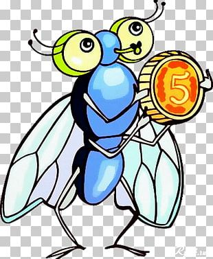 Childhood Little Fly So Sprightly Economy Fairy Tale PNG