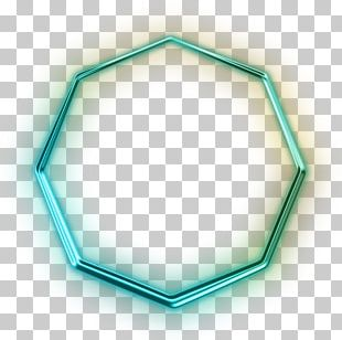 Neon Shapes Octagon Computer Icons PNG