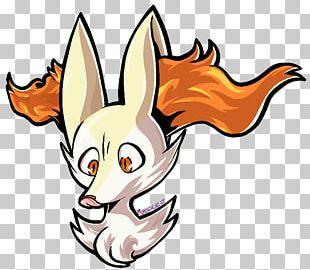 Red Fox Cartoon Snout PNG