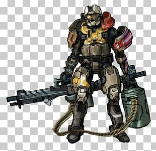 Halo: Reach Halo 3 Halo: Spartan Assault Master Chief Concept Art PNG
