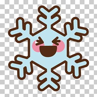 Snowflake Crystal Winter PNG