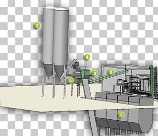 Silo Concrete Plant Ready-mix Concrete Cement Mixers PNG