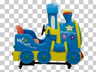 Trackless Train Kiddie Ride Game Amusement Park PNG