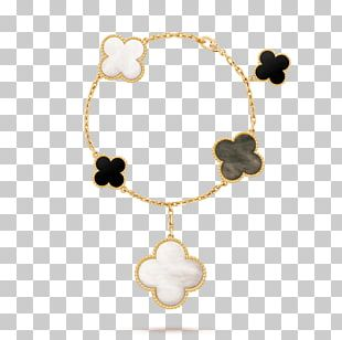 Earring Van Cleef & Arpels Bracelet Onyx Necklace PNG