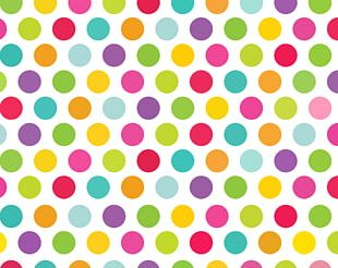 Polka Dot Desktop Color PNG