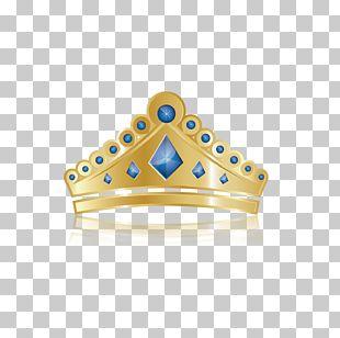 Blue Princess Crown PNG