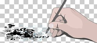 Pen Hand Drawing PNG