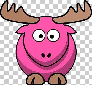 Elk Drawing Cartoon PNG