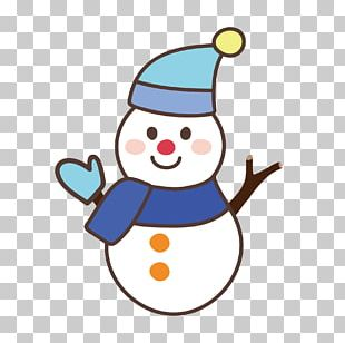 Snowman Illustration Greeting & Note Cards New Year Card PNG