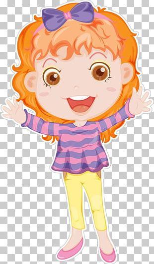 Girl Illustration PNG