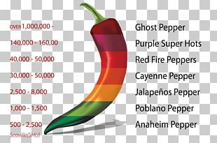 Chili Pepper Jalapeño Bell Pepper Cayenne Pepper Scoville Unit PNG