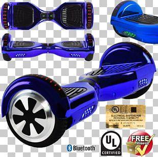 Self-balancing Scooter Electric Vehicle Car Wheel PNG