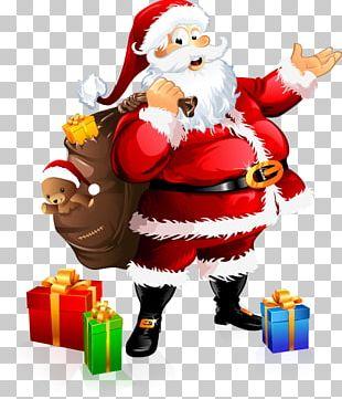 Santa Claus Village Festival Of Lights Christmas Gift PNG