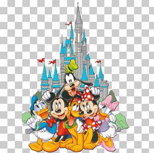 Mickey Mouse Minnie Mouse Pluto Donald Duck Goofy PNG