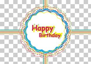 Happy Birthday Card Packaging PNG