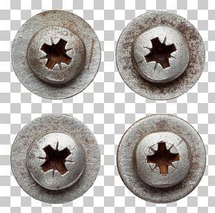 Screw Nut Rivet Desk Nail PNG