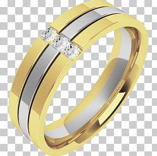 Wedding Ring Diamond Cut Engagement Ring PNG