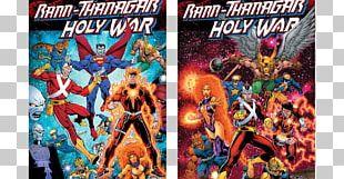 Rann/Thanagar Holy War Comics Rann–Thanagar War Comic Book PNG