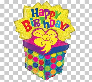 Birthday Cake Happy Birthday To You Balloon Wish PNG