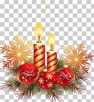 Christmas Ornament Candle Christmas Card PNG