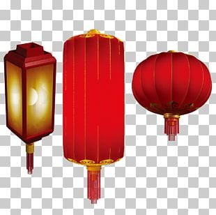 Lantern Chinese New Year Red PNG