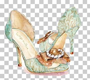 Shoe High-heeled Footwear Drawing Fashion Illustration Illustration PNG
