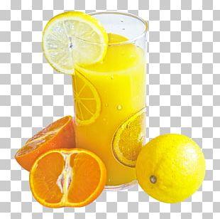 Orange Juice Smoothie Soft Drink Lemon PNG