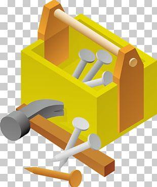 Toolbox Hammer Screw PNG