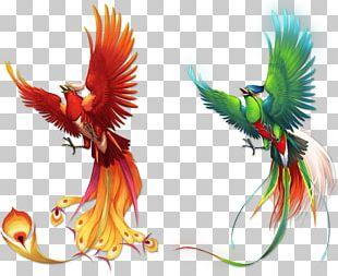 Bird Phoenix Fenghuang PNG