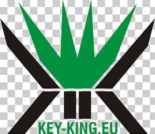 Logo Green Leaf Line Font PNG