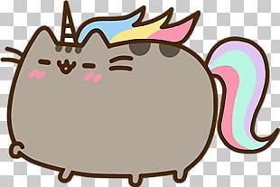 Pusheen Cat Unicorn Tenor PNG