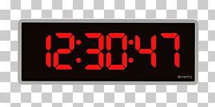 Digital Clock Alarm Clocks Timer Countdown PNG